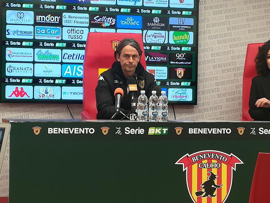 """Inzaghi : """" Difficile cliente il Pisa ma vogliamo l'ottava vittoria di fila per battere il record"""""""