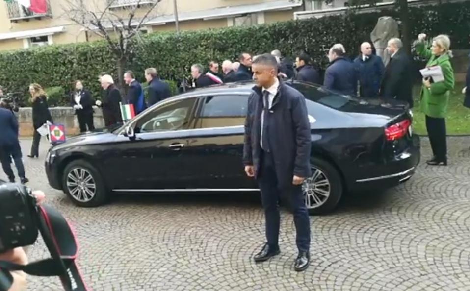 Il Presidente della Repubblica Mattarella oggi a Benevento