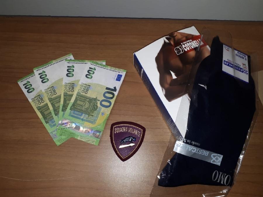 Benevento. Effettuava acquisti con banconote false: arrestato dalla Polizia di Stato