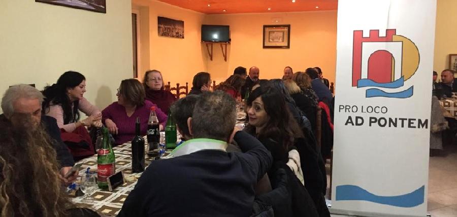 Grande successo per la cena sociale di fine anno della PRO LOCO AD PONTEM di Ponte (BN).