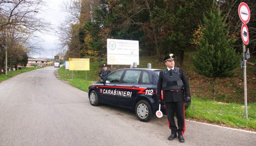 Controlli straordinari dei carabinieri in Valle Telesina