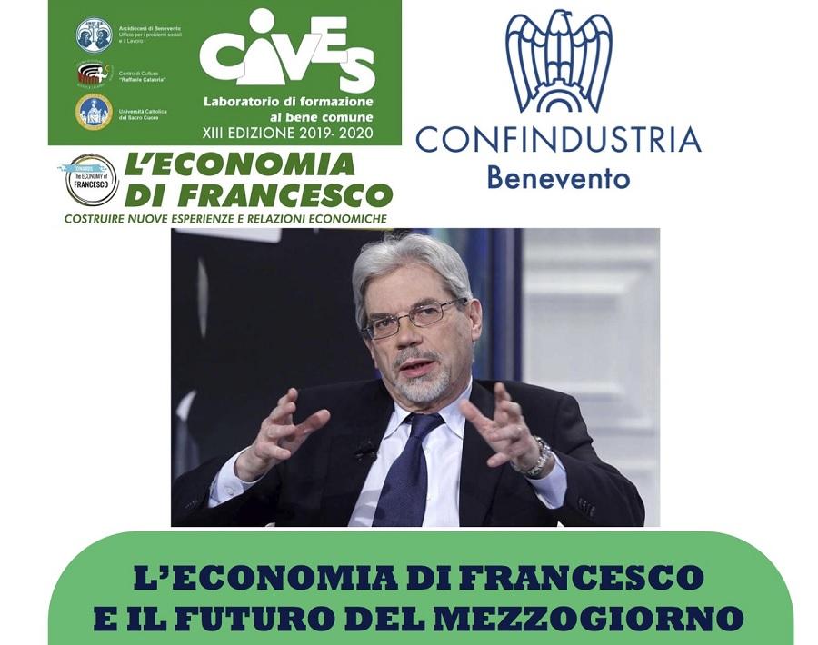 CIVES e Confindustria Benevento promuovono incontro con Claudio De Vincenti già ministro per il Mezzogiorno