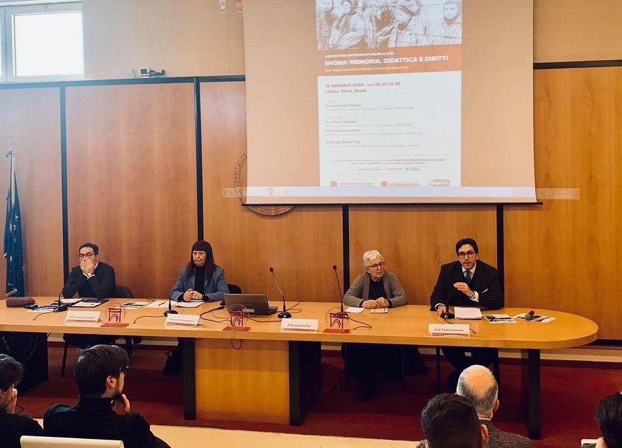 Intervento di Anna Foa all'Unifortunato su apertura Archivi Vaticani e Papa Pio XII
