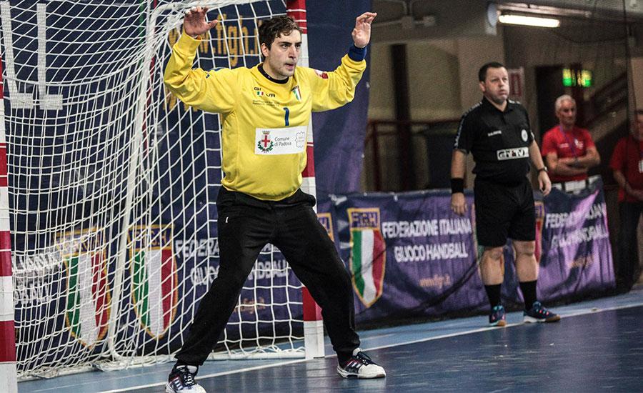 """Azzurri verso il debutto al palatedeschi, il portiere Ebner : """"a Benevento atmosfera eccezionale, puntiamo al passaggio del turno"""""""