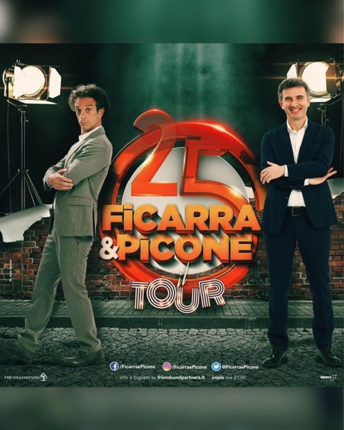 BCT, il duo Ficarra e Picone al Teatro Romano.Biglietti già in vendita on line