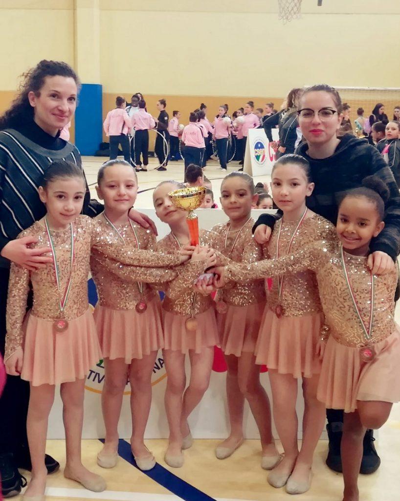 Orgoglio sannita: le piccole ginnaste vincono il Campionato Regionale di Ginnastica Ritmica.