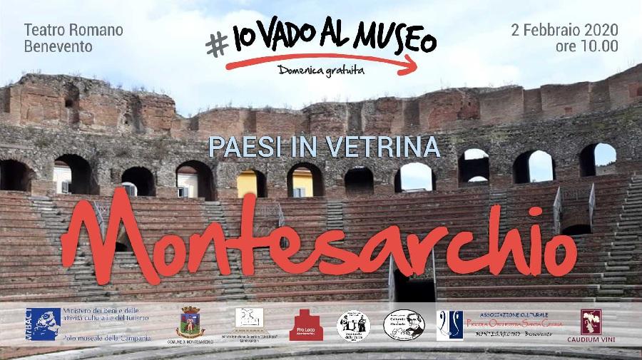 Domenica 2 Febbraio visite gratuite al Teatro Romano e al Museo Archeologico di Montesarchio