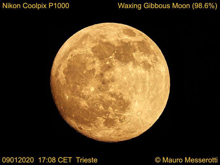 Arriva la prima eclissi del 2020, protagonista la Luna