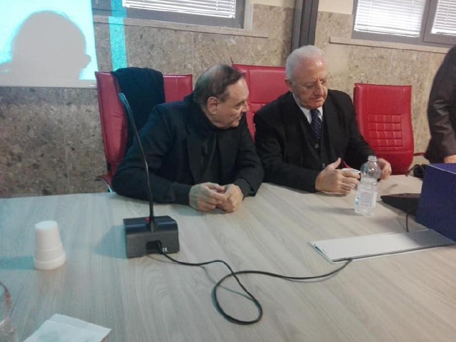 Asl. Oggi conferenza di De Luca  presenti anche Volpe e Mastella