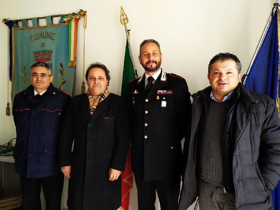 Bonea, il Comandante provinciale CC in visita in Comune
