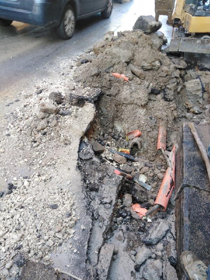 GESESA -BENEVENTO: interruzione idrica a causa di una perdita d'acqua in Via Ennio Goduti.