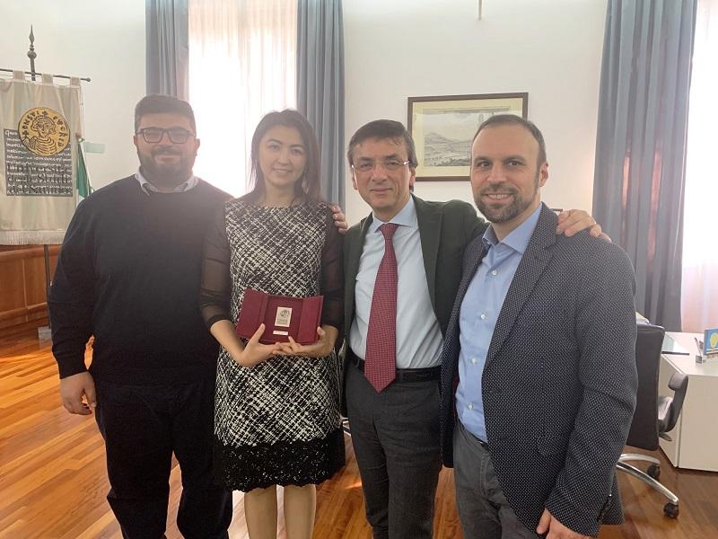 All'Unisannio studenti e ricercatori dall'Uzbekistan