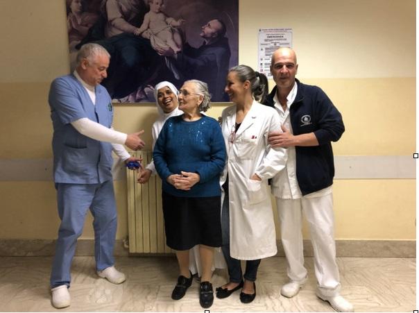Anziani, al Fatebenefratelli il tumore si cura con successo