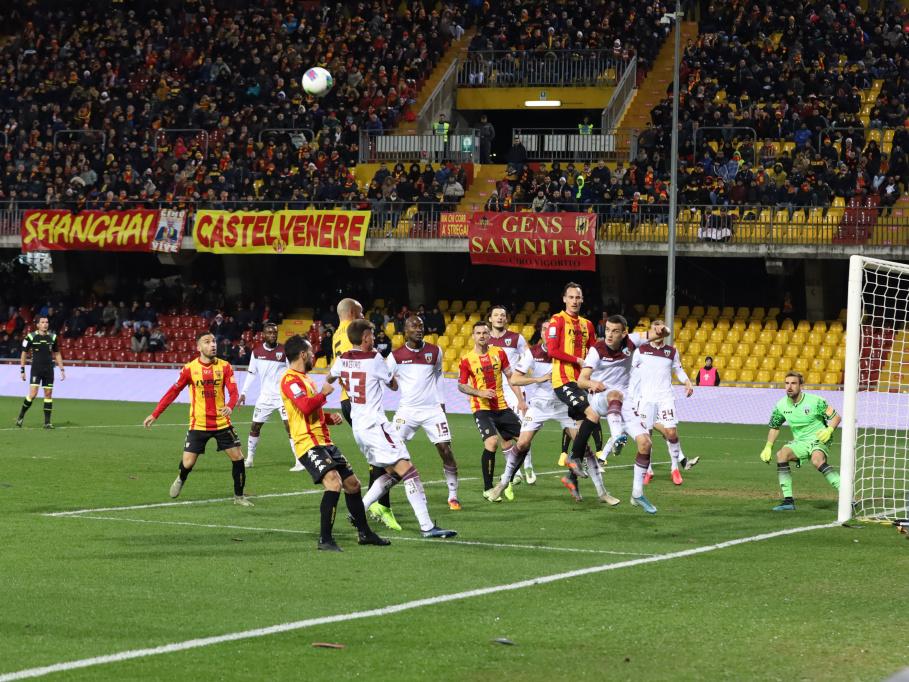 Benevento e Salernitana si dividono la posta. Risultato finale 1 a 1