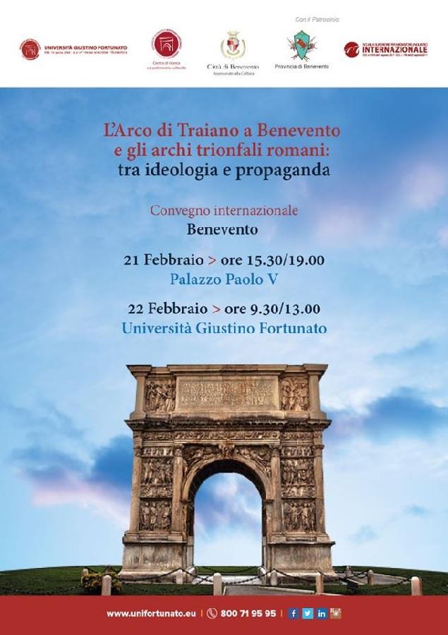L'Arco di Traiano e gli Archi Trionfali Romani. Conferenza Stampa il 19 Febbraio