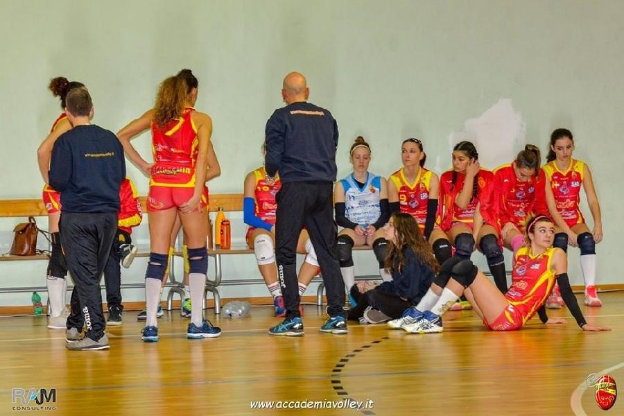 Inattesa sconfitta per l'Accademia Volley a Montoro.