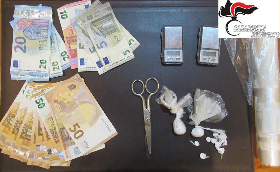 Benevento: arrestato Pusher per detenzione e spaccio di stupefacenti