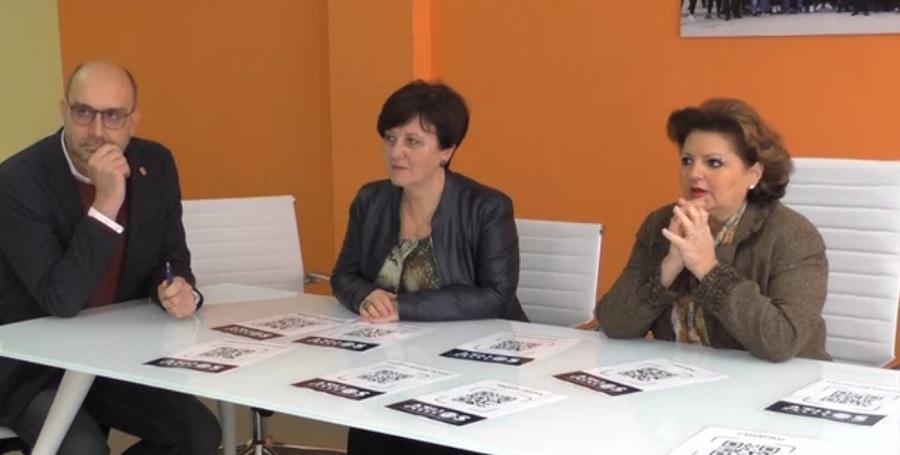 Athos l'App presentata all'Istituto Rampone: la cultura al passo con i tempi e con la tecnologia.