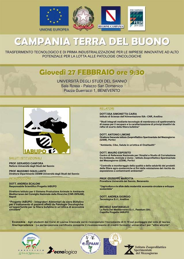 Campania Terra del Buono. Integratori Alimentari da siero Bufalino