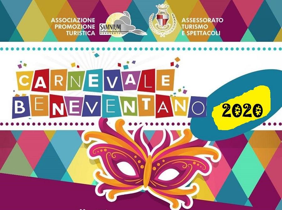 Carnevale Beneventano 2020: martedi 25 febbraio il capoluogo sannita in festa