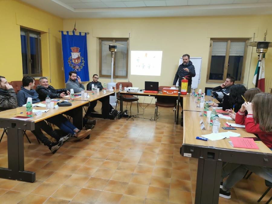 Pro Loco Ad Pontem, Ponte (Bn). Corso di formazione prevenzione incendi e gestione emergenze