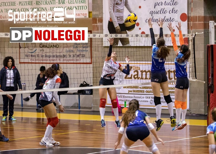DP Noleggi SG Volley. Brutto stop  a Caivano