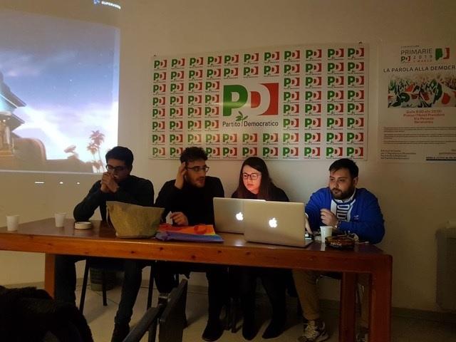 """Giovani Democratici : """" Saremo parte attiva della coalizione contro il centrodestra"""""""