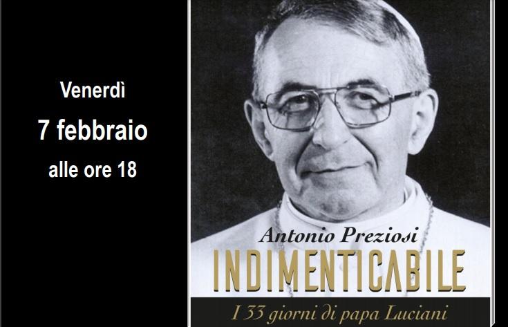 I 33 giorni Papa Luciani: presentazione al Seminario di Benevento del libro di Preziosi