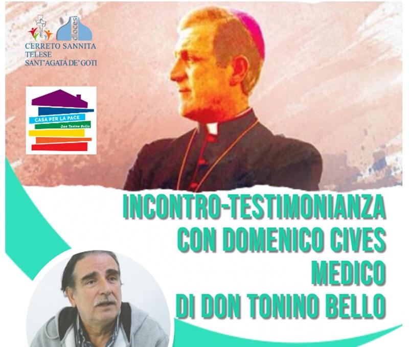 A Cerreto Sannita incontro-testimonianza con Domenico Cives