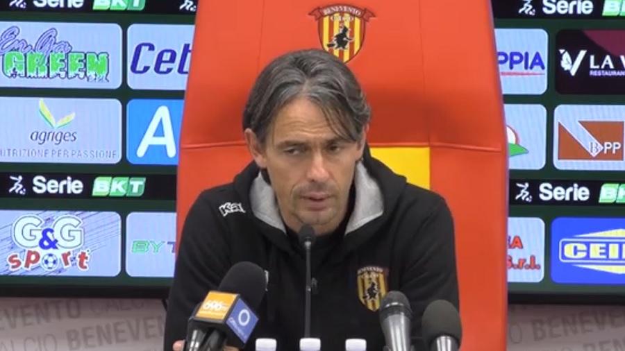 """Benevento Calcio. Arriva la Salernitana, Inzaghi : """"Salernitana in ottimo stato di forma"""""""