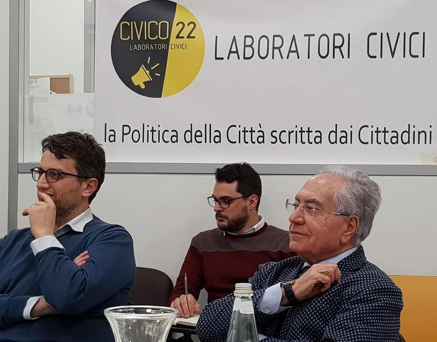 La seconda fase di Civico22 resta quella iniziale: la democrazia partecipata.Al via i laboratori Civici.