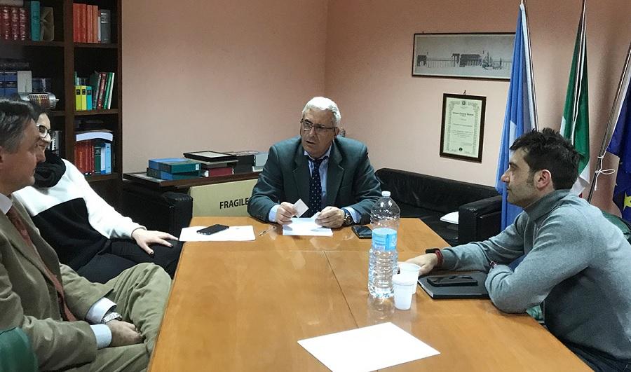Incontro del Consigliere regionale Mortaruolo con l'Amministratore di AIR sul trasporto pubblico locale nel Sannio.