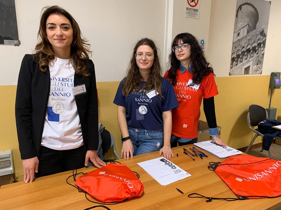 Open Day Unisannio: mille studenti delle scuole accolti nei tre dipartimenti