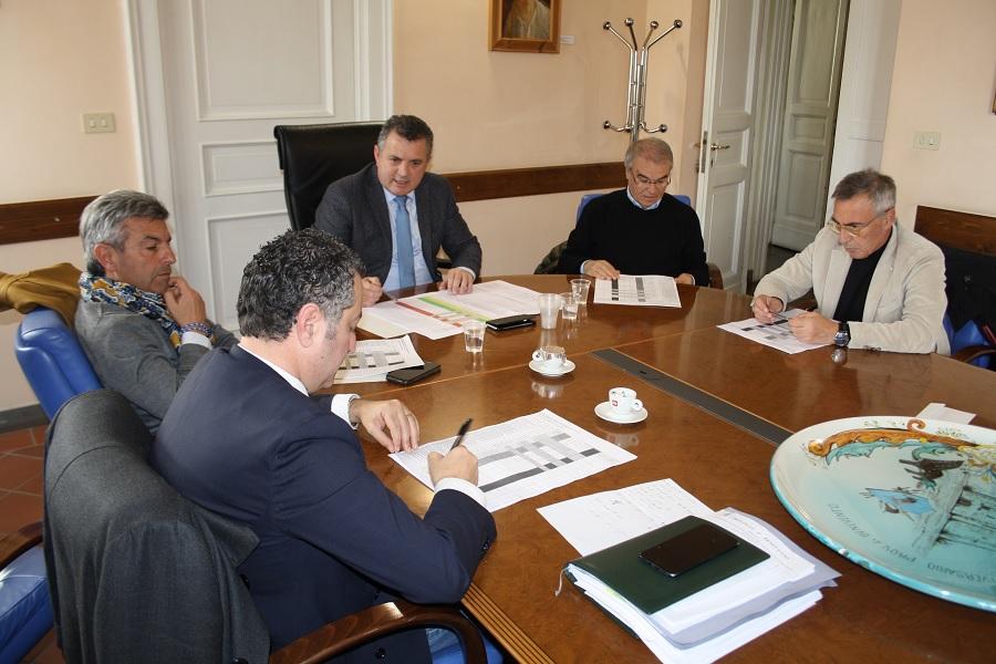 Bilancio di Previsione 2020. Riunione alla Rocca tra Di Maria e i Consiglieri.