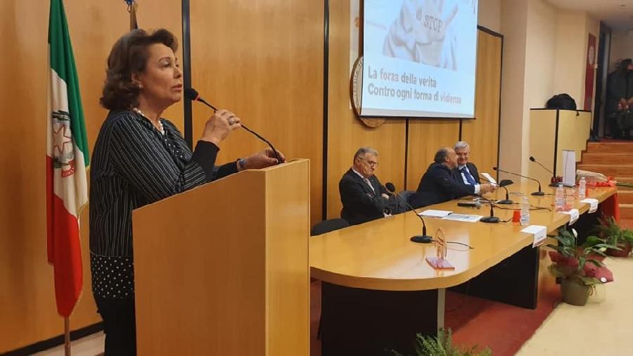 """Sandra Lonardo : """" Una preghiera per Mariangela e per le tante donne che sono volate in cielo per una assurda violenza """""""