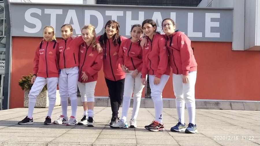 Accademia Olimpica di Scherma, bella esperienza per le giovanissime spadiste a Bolzano