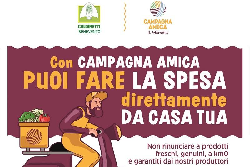 Coronavirus: Coldiretti Benevento, cibo contadino con consegne a domicilio
