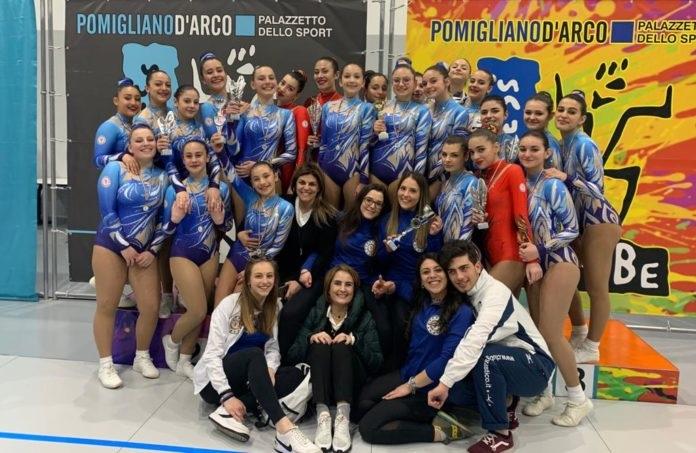 Ginnastica aerobica, Benevento vince 2 titoli regionali