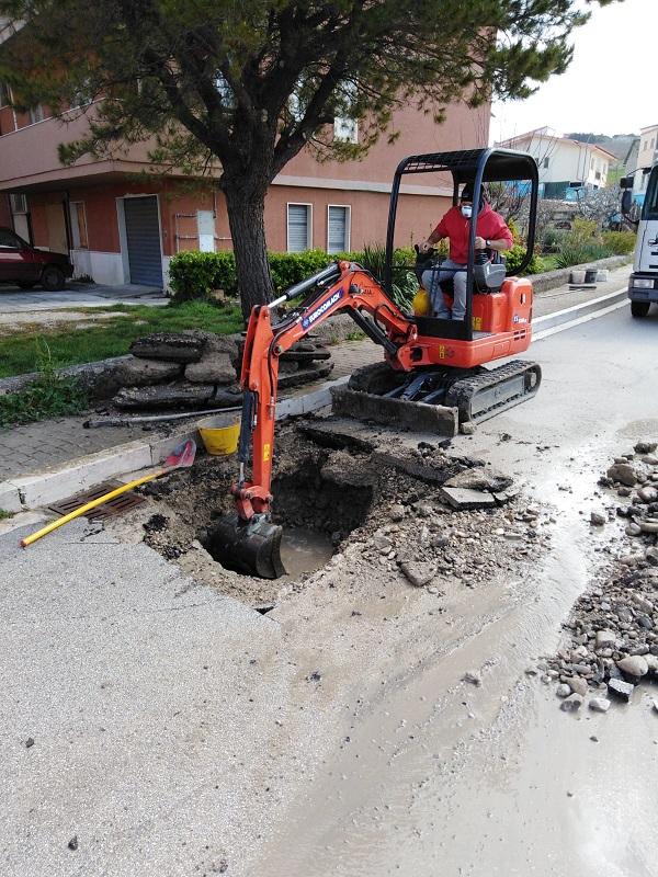 GESESA – San Bartolomeo in Galdo: interruzione idrica a causa di una perdita improvvisa