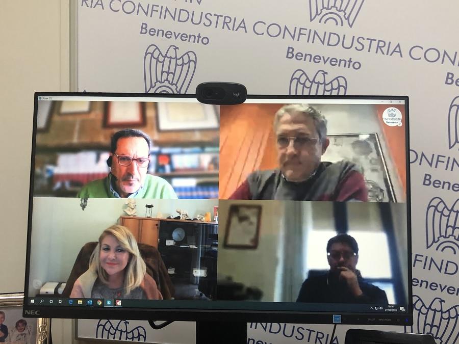 Confindustria, CGIL, CISL e UIL Benevento uniti per far fronte all'emergenza.
