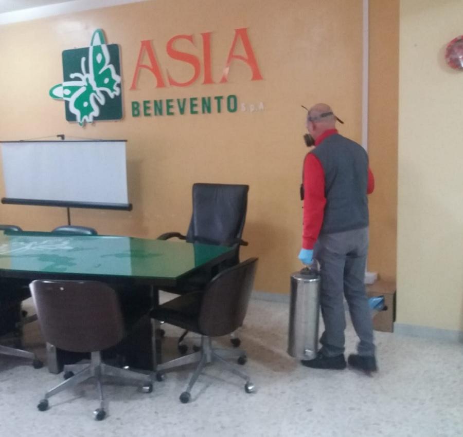 Asia,chiusura uffici oggi e domani per sanificazione locali.