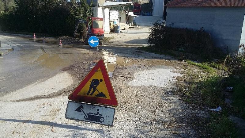 Foiano di Valfortore, Gesesa: interruzione idrica a causa di una perdita improvvisa.
