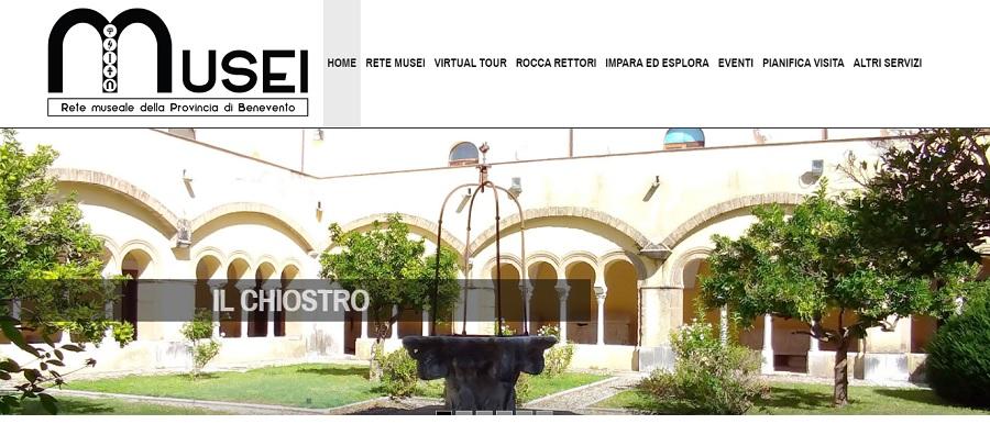 Un viaggio virtuale nella rete museale della Provincia di Benevento