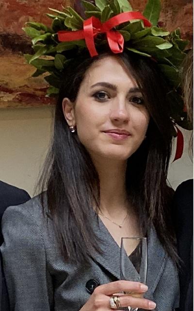 Importante traguardo per Chiara Pagliarulo che ha conseguito la laurea Magistrale in Giurisprudenza presso la Luiss