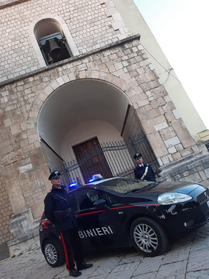 Il Parroco di Paduli ringrazia i Carabinieri per gli aiuti alimentari ai meno abbienti