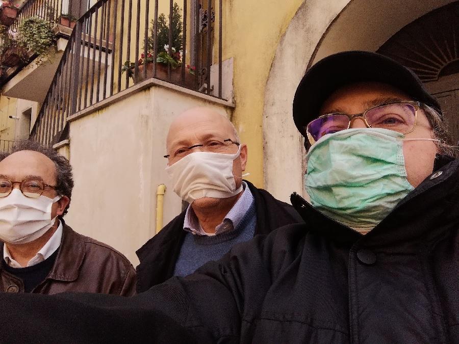 Comitato Centro Storico, distribuite oggi le mascherine consegnate dal Comune