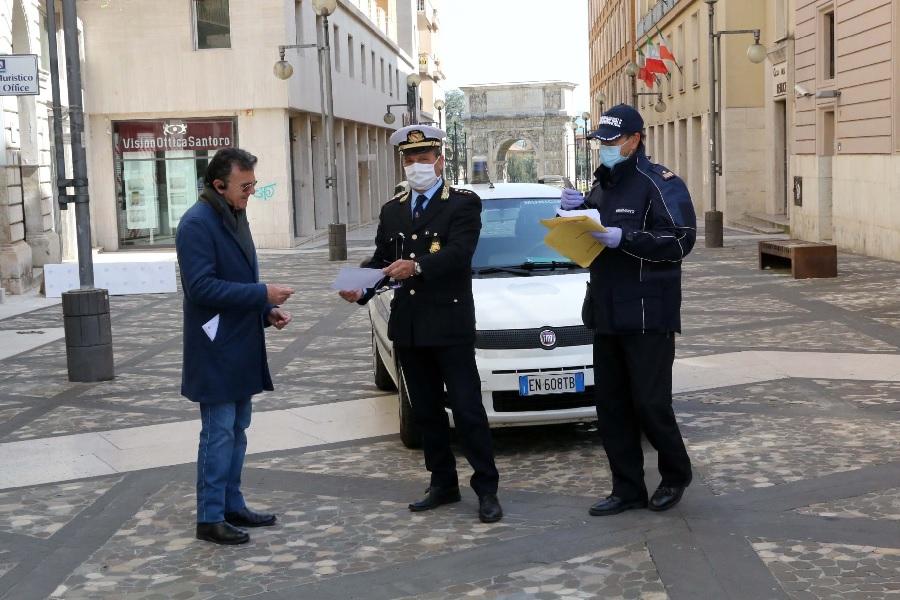 Polizia municipale Benevento,Bosco: effettuati nella giornata di oggi circa 150 controlli anti – Covid