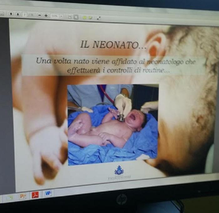 Ospedale Fatebenefratelli Corso di Preparazione al Parto online.Buona la Prima