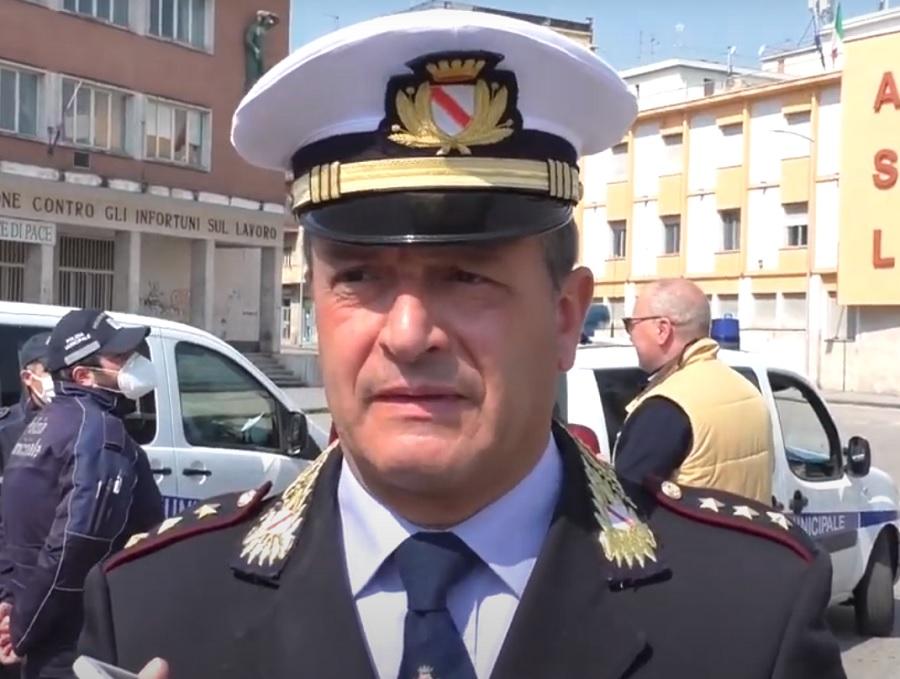 Il Comandante della Polizia Municipale ricorda le misure vigenti in Campania dal 26 Aprile