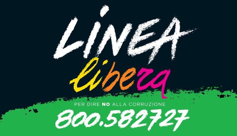 Linea Libera, un progetto per denunciare la criminalità che non va in quarantena